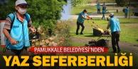 Pamukkale Belediyesi'nden Yaz Seferberliği