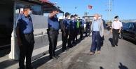 Vali Karahandan çalışanlara bayram ziyareti