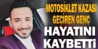 Denizli#039;de devrilen motosikletin sürücüsü öldü