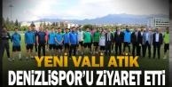 DenizliValisi Ali Fuat Atik, YukatelDenizlispor#039;u ziyaret etti