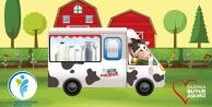 Merkezefendi'de halk süt dağıtımı sürüyor