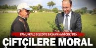 Pamukkale Belediye Başkanı Örki'den çiftçilere destek