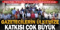 Başkan Doğan, 24 Temmuz Basın Bayramı nedeniyle gazeteciler ile bir araya geldi