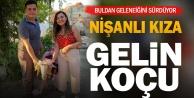 Buldan#039;da nişanlı kıza süslenmiş koç gönderme geleneği yaşatılıyor
