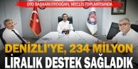 DTO Başkanı Erdoğan: Denizliye 234 milyon liralık destek sağladık