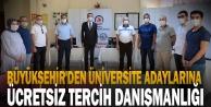 Büyükşehir#039;den üniversite adaylarına ücretsiz tercih danışmanlığı