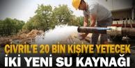 Büyükşehir DESKİden Çivrile yeni su kaynakları