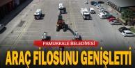 Pamukkale Belediyesi Araç Filosunu Daha Genişletti