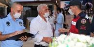 Pamukkale'de Koronavirüs Denetimleri Aralıksız Devam Ediyor