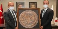 Başkan Örki, Vali Atiki ağırladı