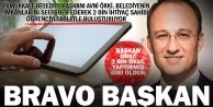 Başkan Örki'den alkışlık 'tablet projesi'