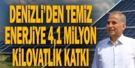Başkan Zolan: quot;Güneş tarlaları ile 4,1 milyon KWh#039;lik elektrik enerjisi ürettikquot;