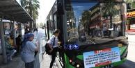 Büyükşehir otobüsleri KPSSye gireceklere ücretsiz