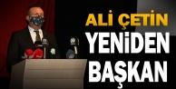 Denizlispor#039;da başkan Ali Çetin güven tazeledi