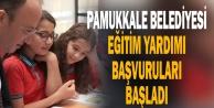 Pamukkale Belediyesi eğitim yardımı başvuruları başladı