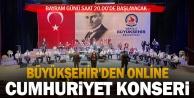 Büyükşehir#039;den online Cumhuriyet Bayramı konseri