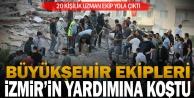 Büyükşehir, İzmir#039;in yaralarına koştu