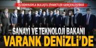 Sanayi ve Teknoloji Bakanı Varank, Denizli#039;de iş dünyasıyla buluştu