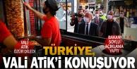 Türkiyeye gündem olan Vali Atik özür diledi, Bakan Soylu açıklama yaptı