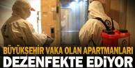 Büyükşehir#039;den dezenfeksiyon seferberliği