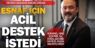DEGİAD Başkanı Urhandan darboğazdaki esnaf için hükümete çağrı