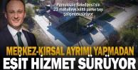 Pamukkale Belediyesi'nin 23 mahalleye kilitli parke taşı çalışması sürüyor