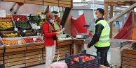 Pamukkale belediyesinden esnaflara destek