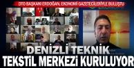 Başkan Erdoğan, ekonomi gazetecileriyle buluştu