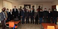Başkan Zolan gazetecileri ziyaret etti