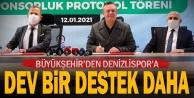Büyükşehir#039;den Denizlispor#039;a dev bir destek daha