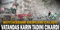 Büyükşehir#039;den kar mesai
