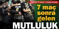 Denizlispor, 7 hafta sonra 3 puanla tanıştı