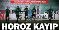 Denizlispor, kendi evinde Karagümrüke 2-1 yenildi