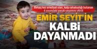 Kalp rahatsızlığı bulunan 4 yaşındaki Emir Seyit Ata hayatını kaybetti