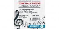 Merkezefendi Belediye Orkestrası'ndan online konser