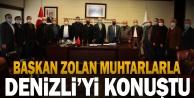 Muhtarlar Derneği#039;nden Başkan Zolan#039;a ziyaret