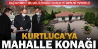 Pamukkale Belediyesi'nden Kurtluca'ya köy konağı