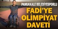 Pamukkale Belediyesporlu Fadi'ye olimpiyat daveti