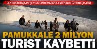 Pamukkale#039;yi 2020#039;de 625 bin kişi ziyaret etti