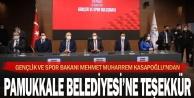 Başkan Örki Bakan'a Pamukkale'yi anlattı