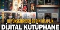 Büyükşehir#039;den 25 bin kitaplık dijital kütüphane geliyor