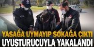 Denetim sırasında üzerinde uyuşturucu bulunan kişi gözaltına alındı