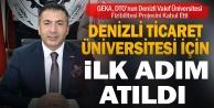GEKA, DTOnun Denizli Vakıf Üniversitesi Fizibilitesi Projesini Kabul Etti
