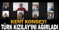 Kent Konseyi Türk Kızılay#039;ını ağırladı