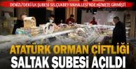 Atatürk Orman Çiftliği Saltak Şubesi açıldı