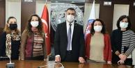 Başkan Erdoğan, odalarında çalışan kadınları unutmadı