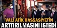 Denizli Valisi Ali Fuat Atik salgın tedbirleri konusundaki hassasiyetin artırılmasını istedi