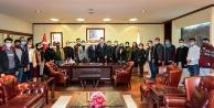 Gençlik Kolları#039;ndan Başkan Zolan#039;a ziyaret
