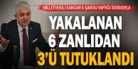Milletvekili Sancar#039;a şantaj yaptıkları iddiasıyla yakalanan 6 zanlıdan 3#039;ü tutuklandı