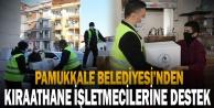 Pamukkale Belediyesinden Kıraathane İşletmecilerine Destek